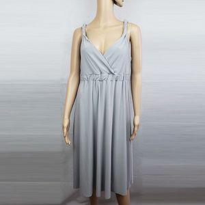 🔴SALE🔴 Metro 7 Dolphin Gray Dress Size L